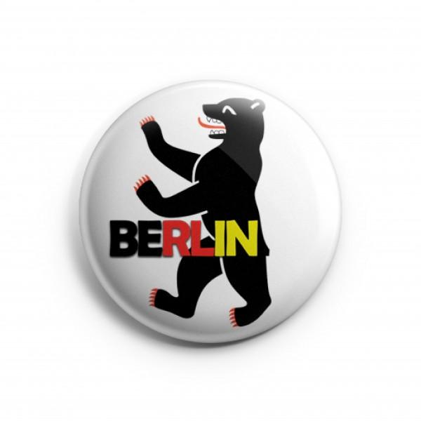 Magnet Berlin Bär mit Schrift