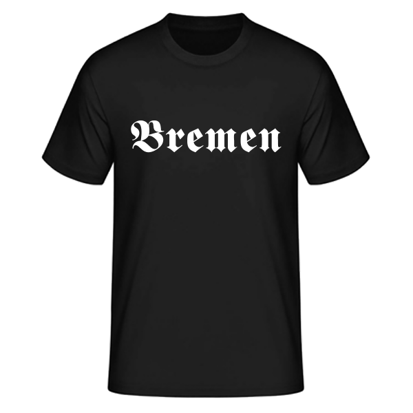 "Unisex T-Shirt Altdeutsch ""Bremen"""