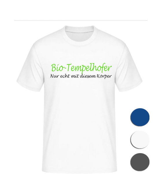 T-Shirt Bio-Tempelhofer
