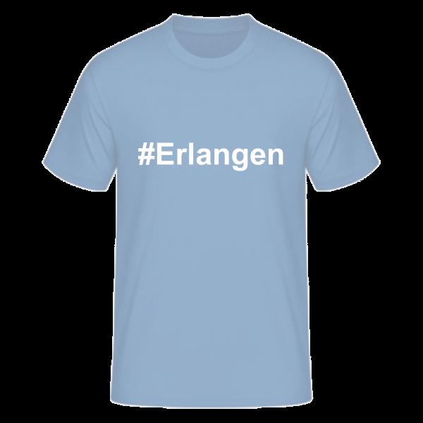 T-Shirt Kurzarmshirt #Erlangen