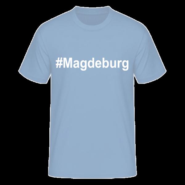 T-Shirt Kurzarmshirt #Magdeburg