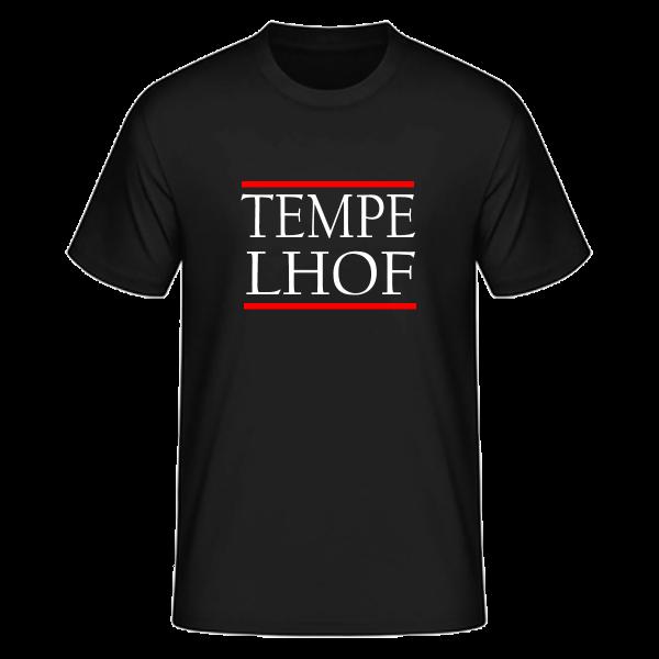 T-Shirt Silben TEMPE-LHOF (Run DMC Style)