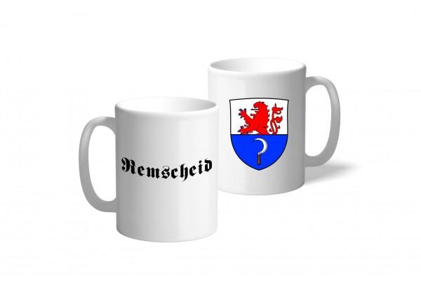 Tasse Wappen: Remscheid