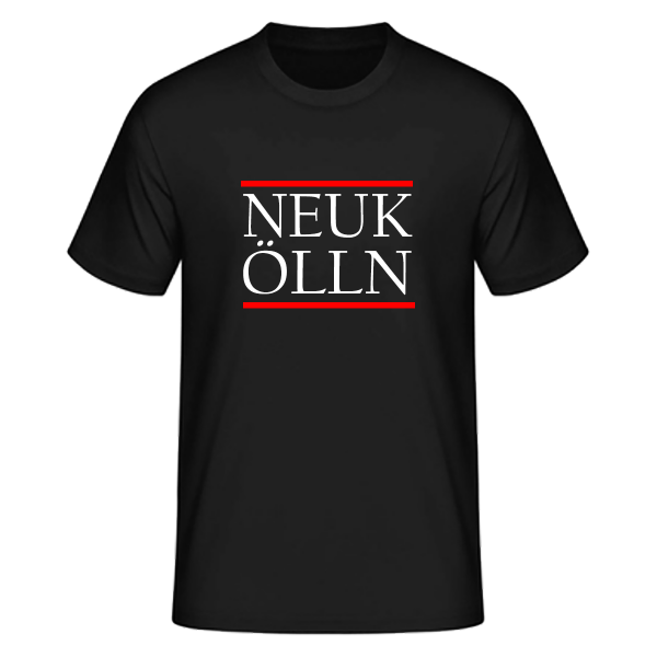 T-Shirt Silben NEUK-ÖLLN (Run DMC Style)