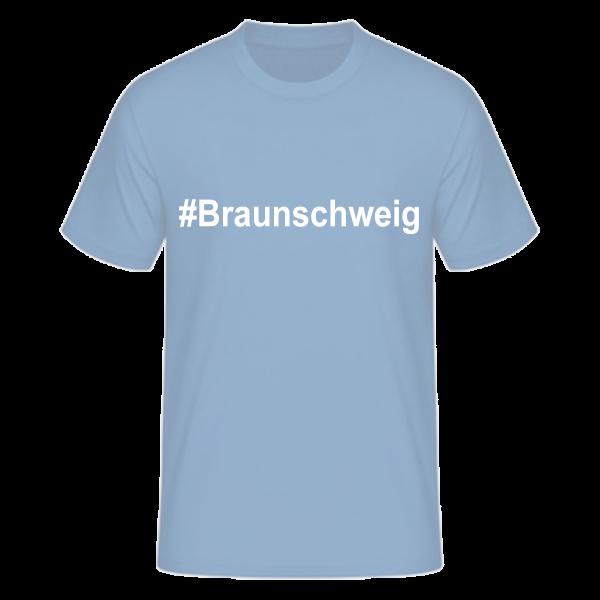 T-Shirt Kurzarmshirt #Braunschweig
