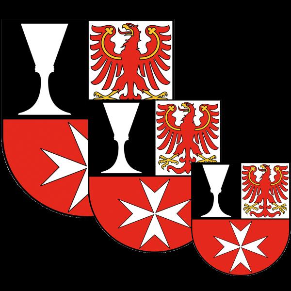Aufkleber - Wappen Neukölln