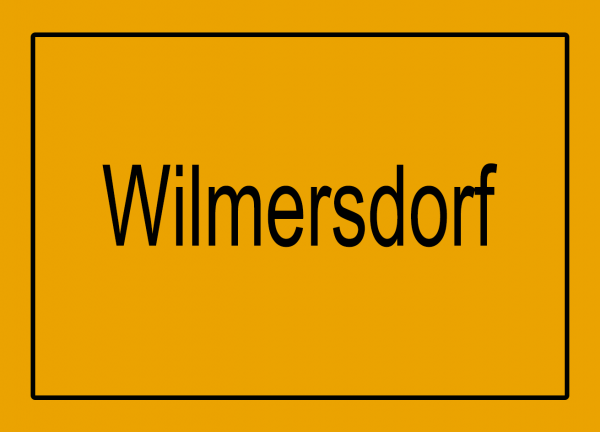 Aufkleber - Ortseingang Wilmersdorf