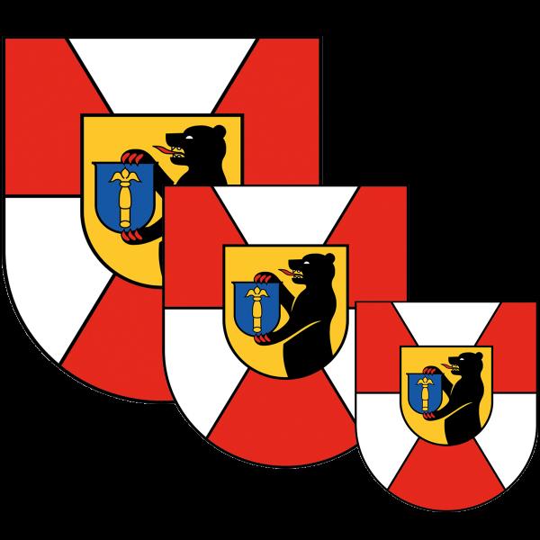 Aufkleber - Wappen Berlin-Mitte