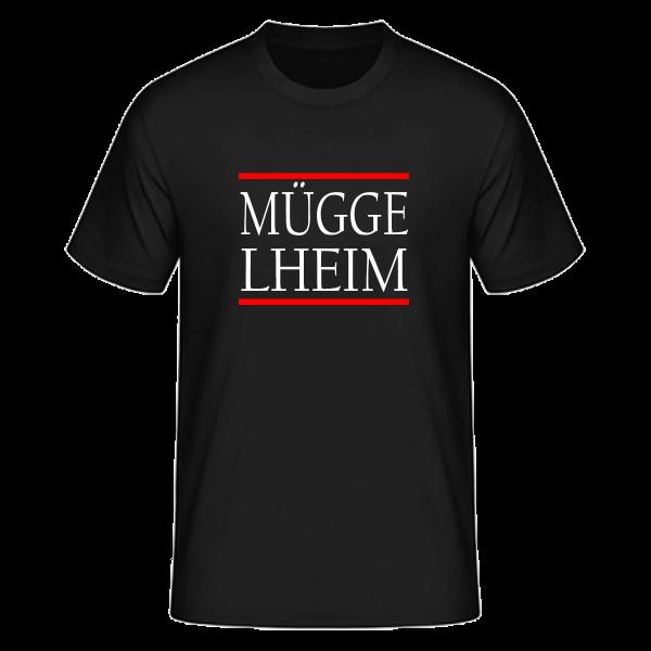 T-Shirt Silben MÜGGE-LHEIM (Run DMC Style)