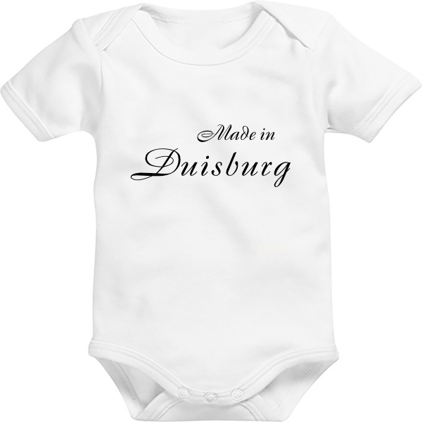 Baby Body: Made in Duisburg