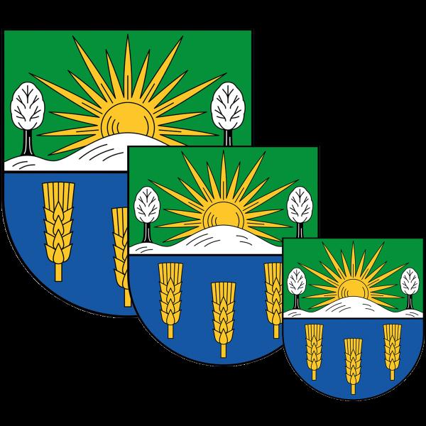 Aufkleber - Wappen Lichtenberg