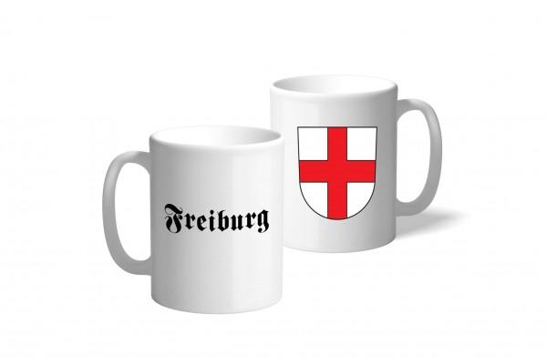 Tasse Wappen: Freiburg
