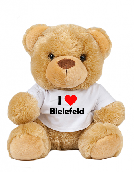 Teddy - I love Bielefeld - Plüschbär Bielefeld