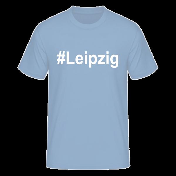 T-Shirt Kurzarmshirt #Leipzig