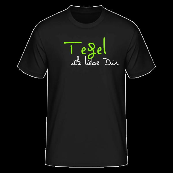 T-Shirt Tegel Ick Liebe Dir